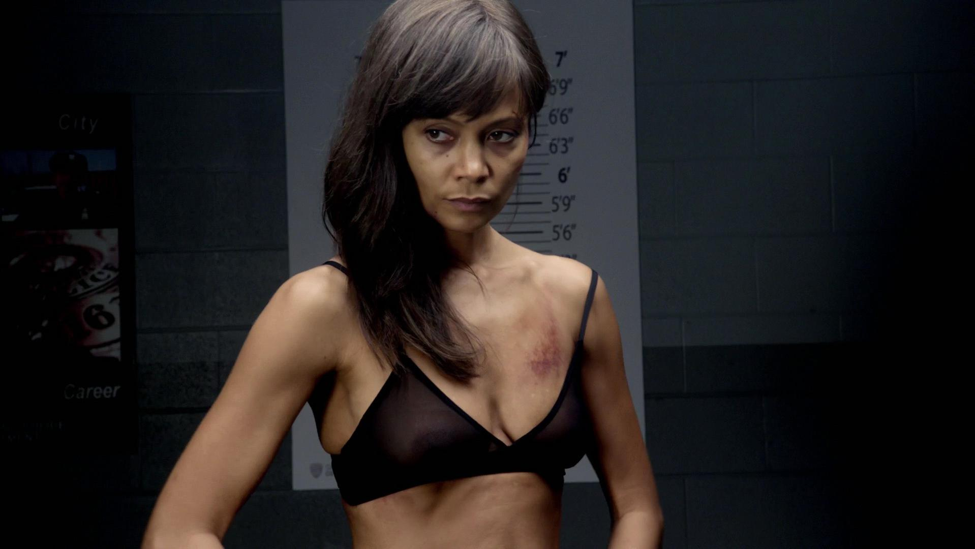 Thandie Newton nude - Rogue s01e08-10 (2013)