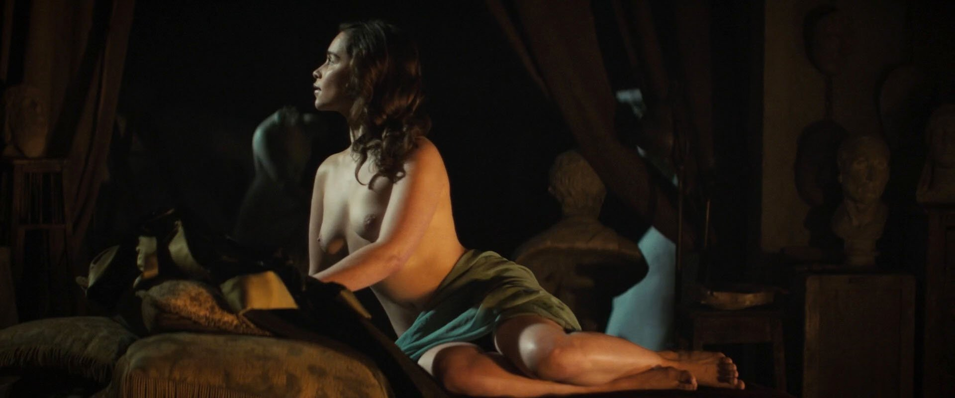 Emilia Clarke nude - Voice from the Stone (2017)