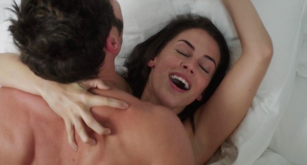 Jessica Lowndes sexy - Larry Gaye: Renegade Male Flight Attendant (2015)