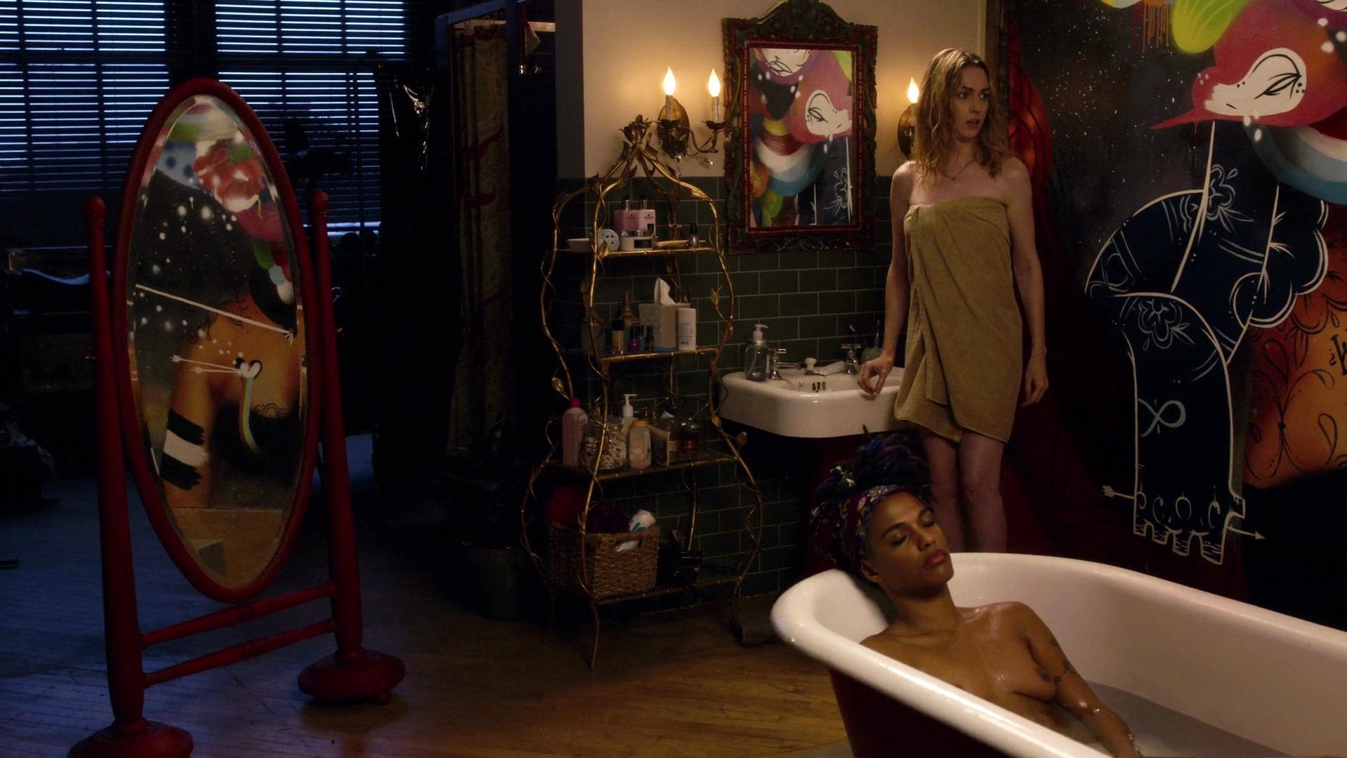 Freema Agyeman nude, Jamie Clayton nude - Sense8 s01e01 (2015)