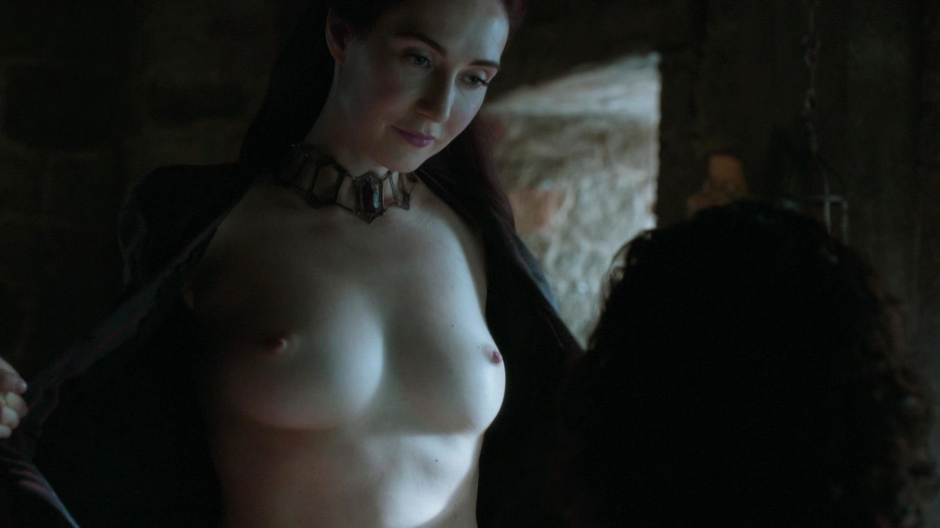 Carice van Houten nude, Josephine Gillan nude - Game of Thrones s05e04 (2015)