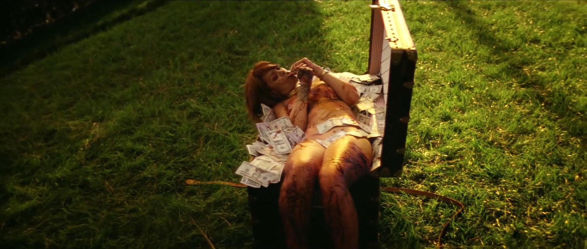 Rihanna nude, Rachel Roberts nude - Bitch Better Have My Money (2015)