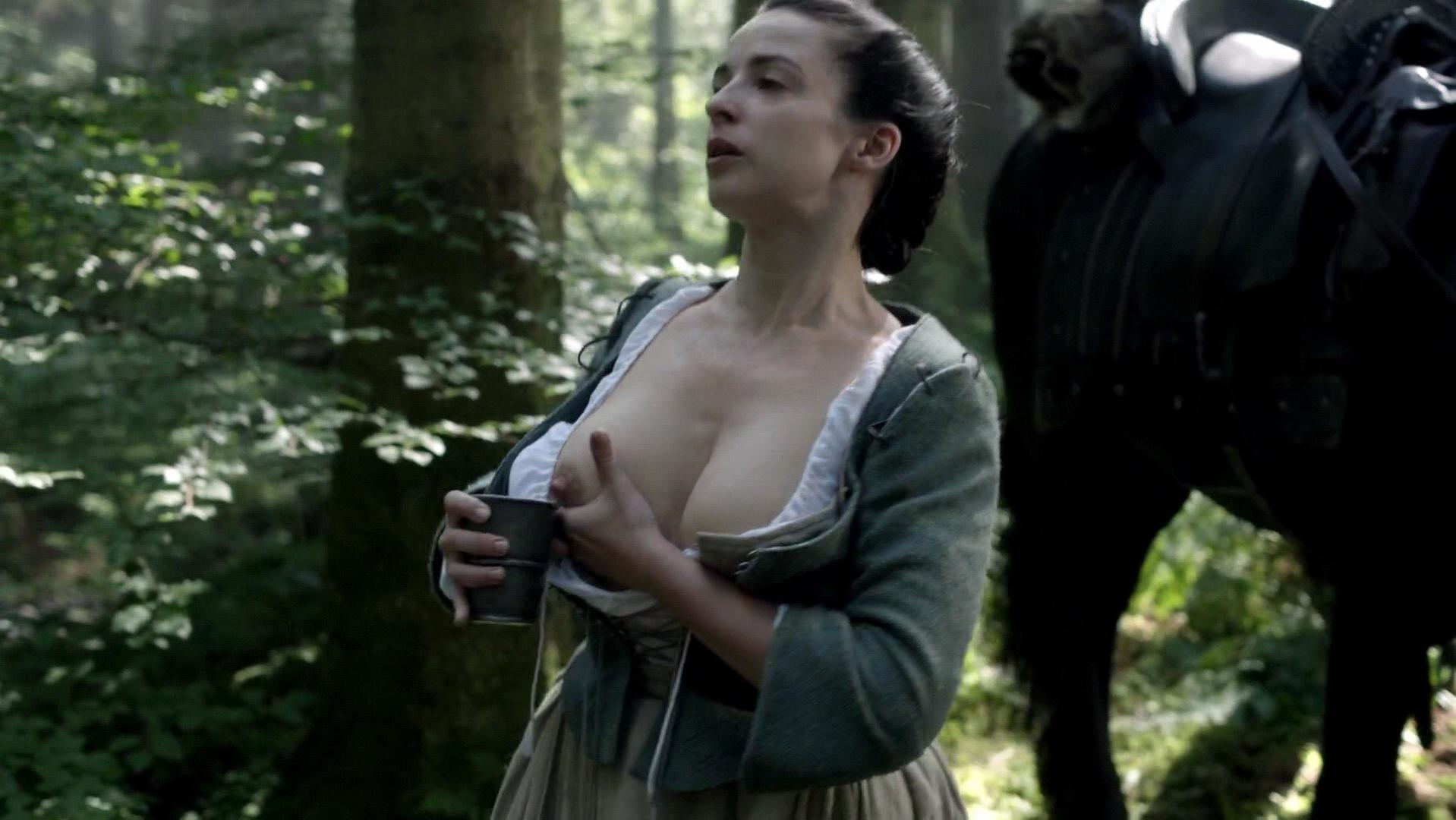 Laura Donnelly nude - Outlander s01e14 (2015)