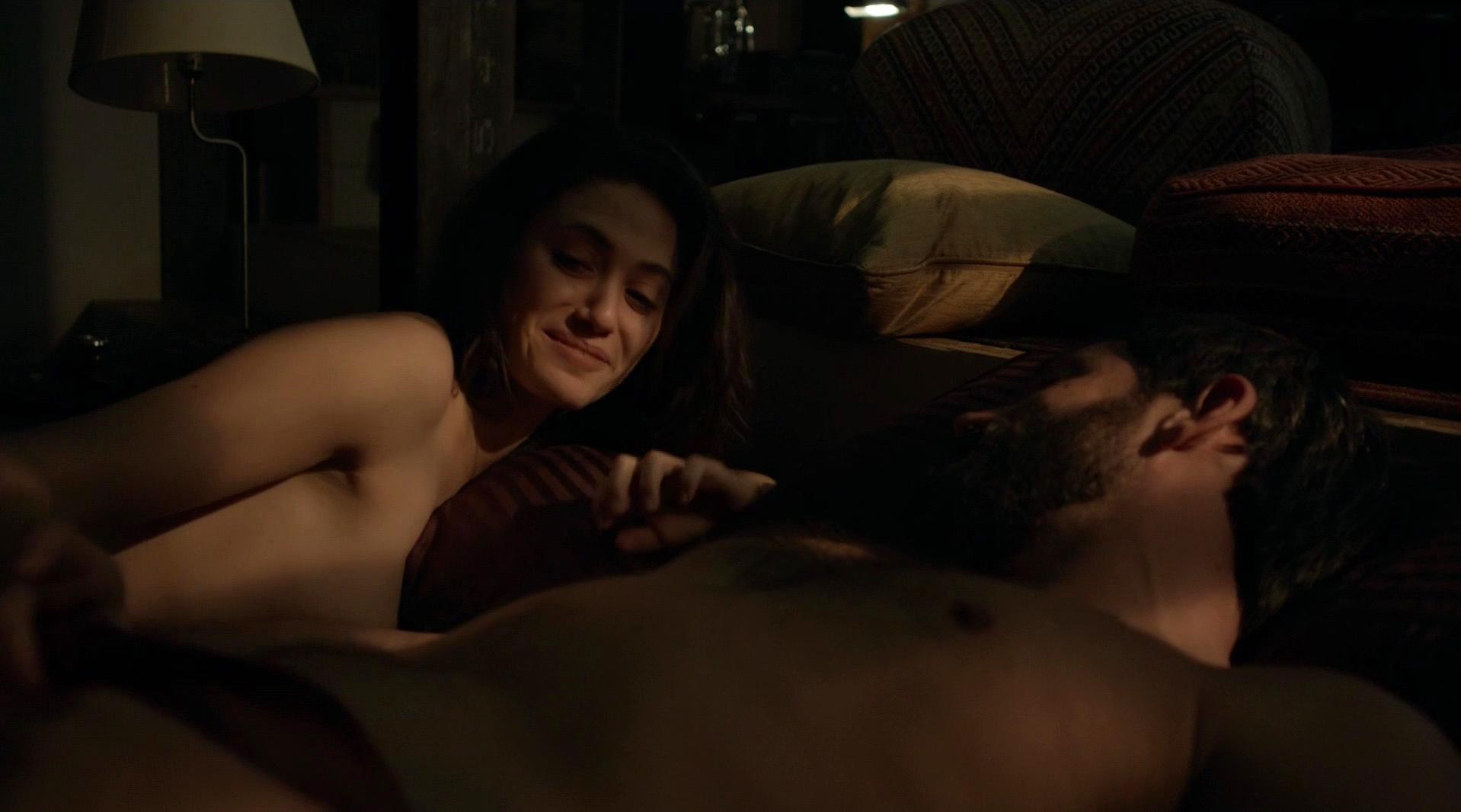 Emmy Rossum nude, Kate Morgan Chadwick nude - Shameless s05e12 (2015)