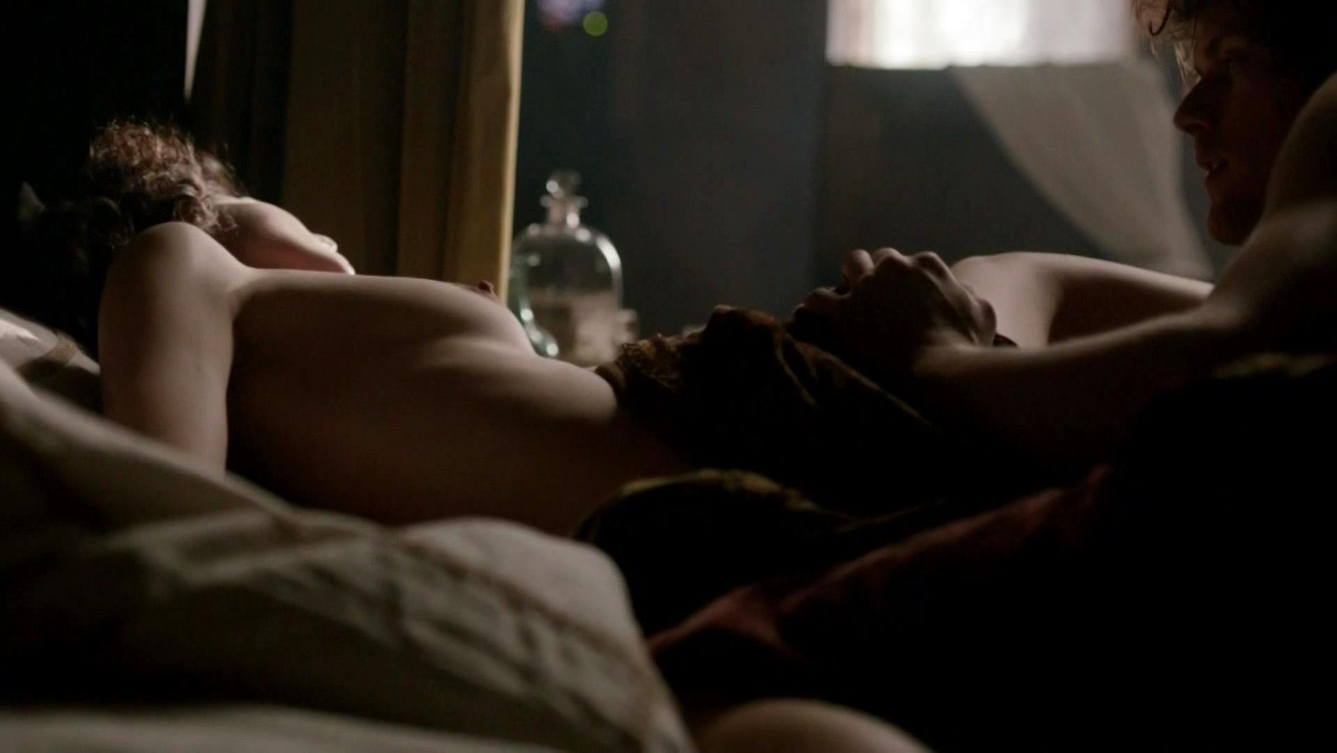 Caitriona Balfe nude - Outlander s01e10 (2015)