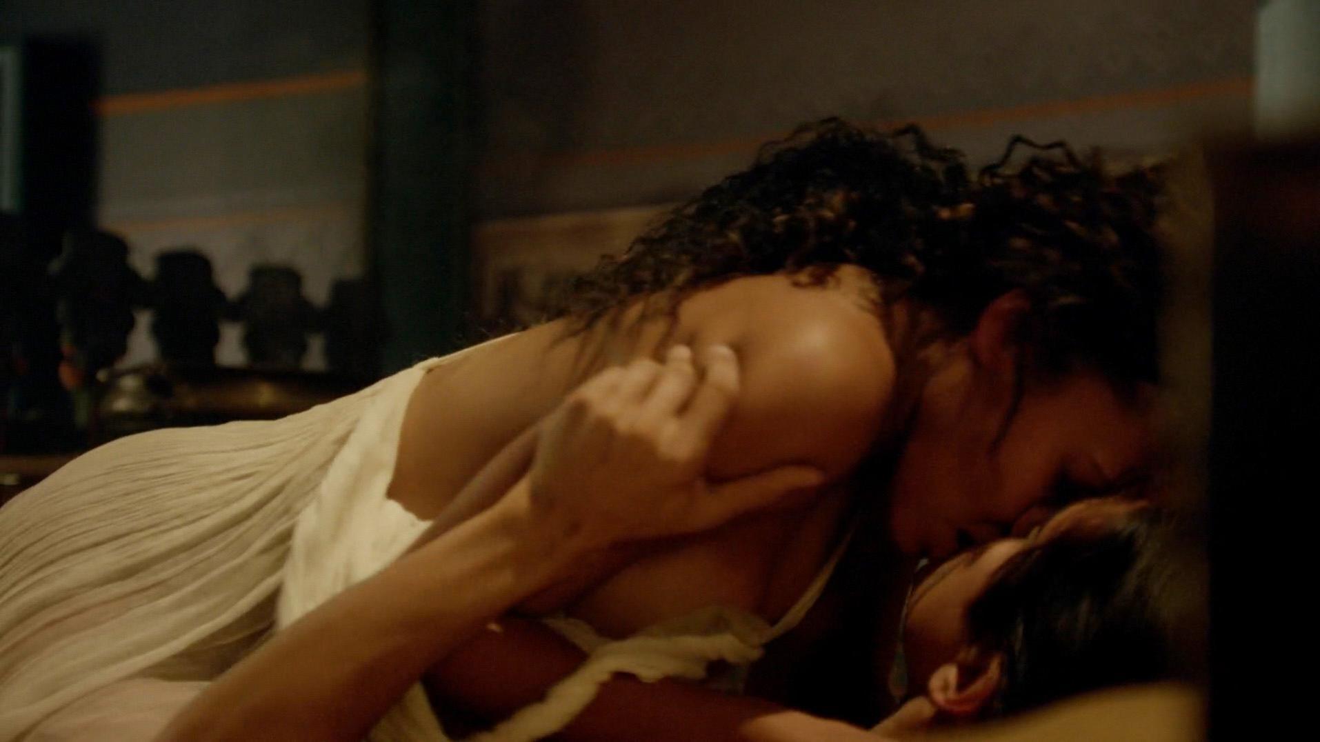 Nu Video Celebs Kylie Bunbury Nue, Sibylla Deen Sexy-3868