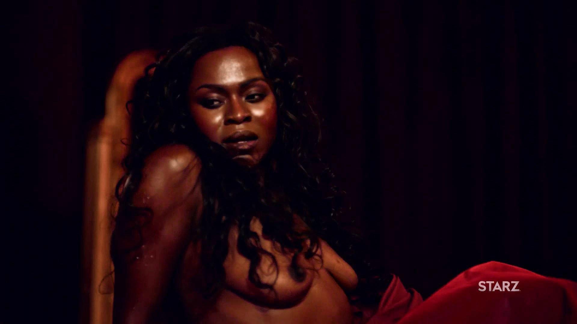 Yetide Badaki nude - American Gods s01e02 (2017)