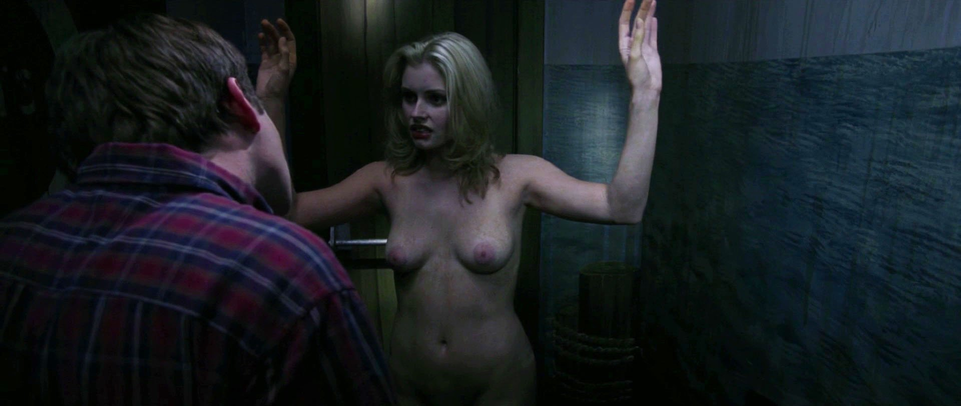 Brianna Brown nude - The Evil Within (2017)