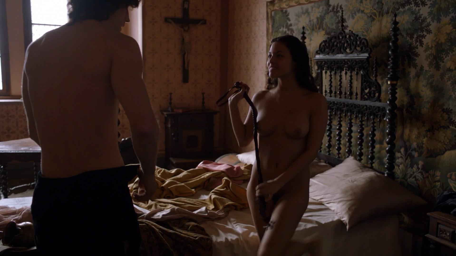 Nude Video Celebs Elisa Mouliaa Nude - Borgia S01E12 2011-3236