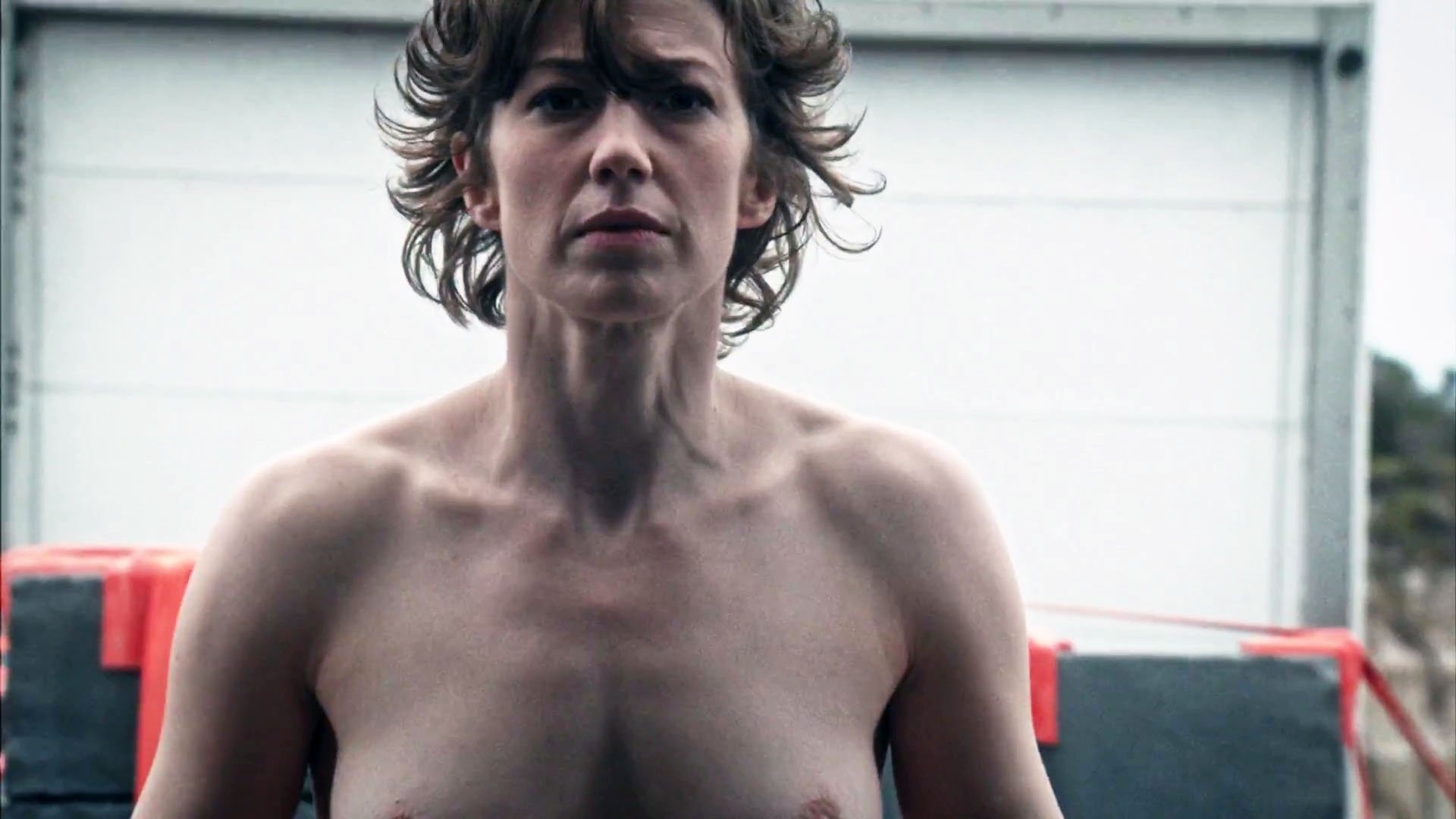 Carrie Coon nude - The Leftovers s03e08 (2017)