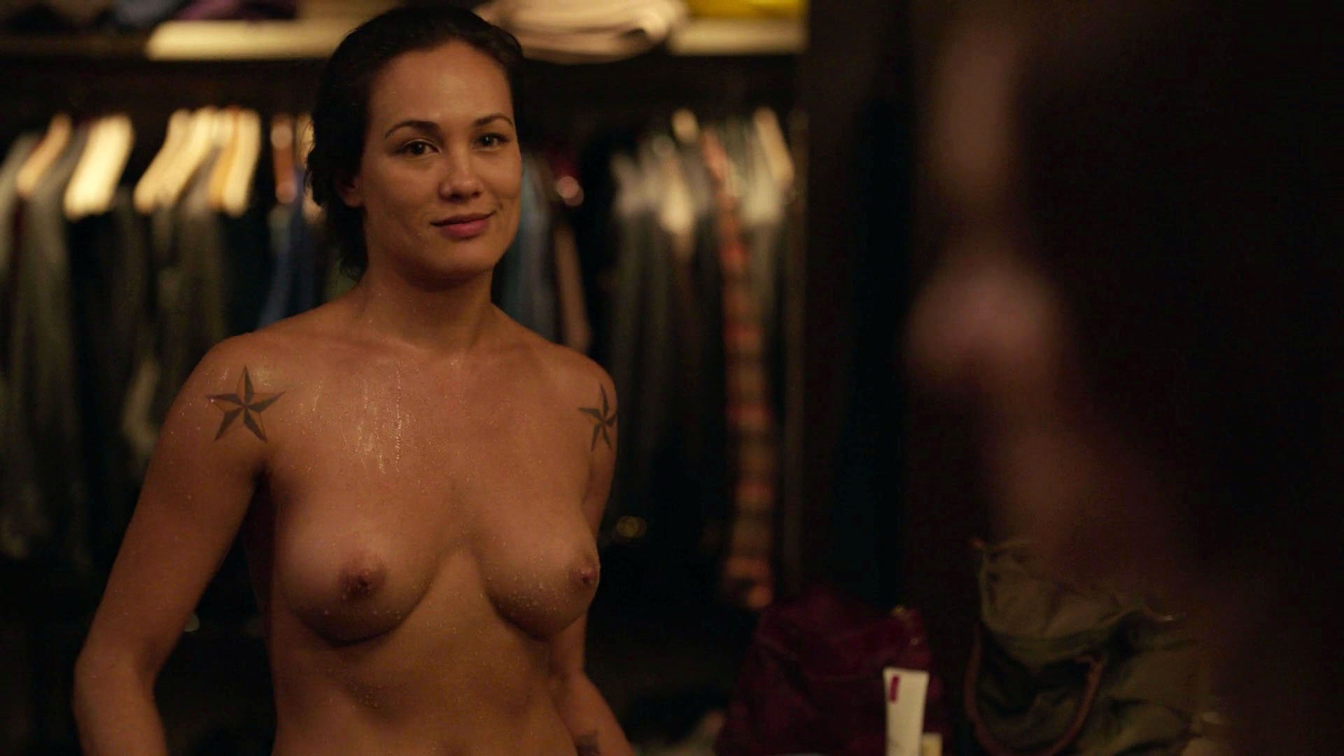 Nude scenes on tv are mistaken