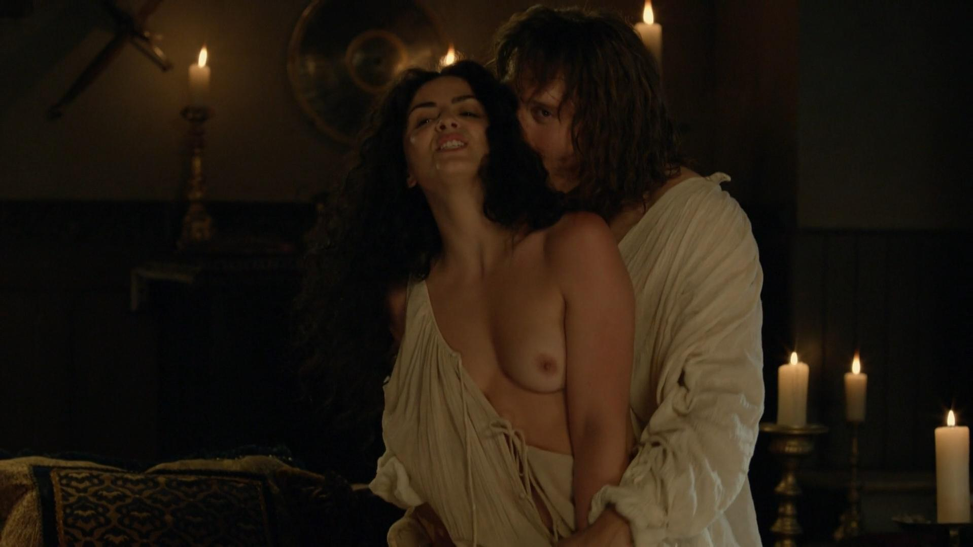 Kellie Blaise nude - The Borgias s02e03 (2012)