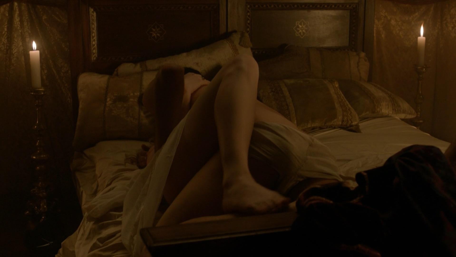 Holliday Grainger nude - The Borgias s02e02 (2012)
