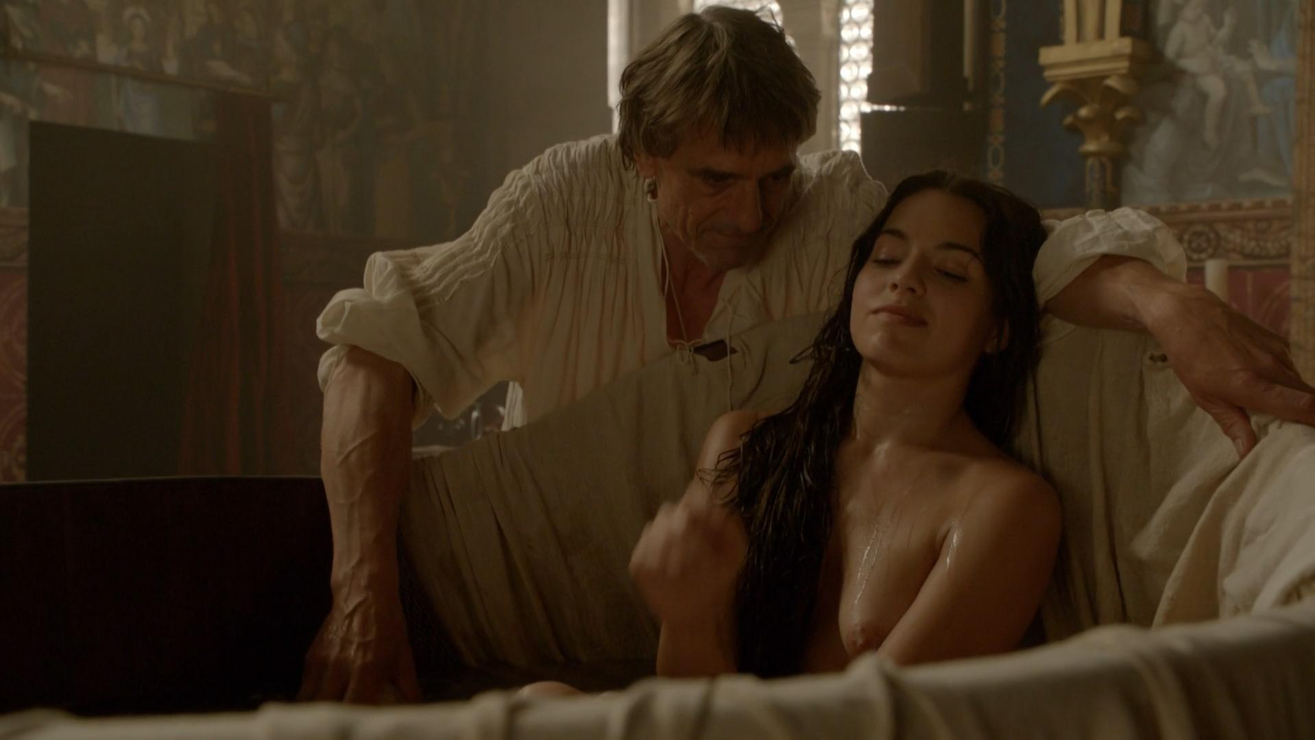 Ana ularu melia kreiling the borgias s03e05 sex scenes - 2 part 3