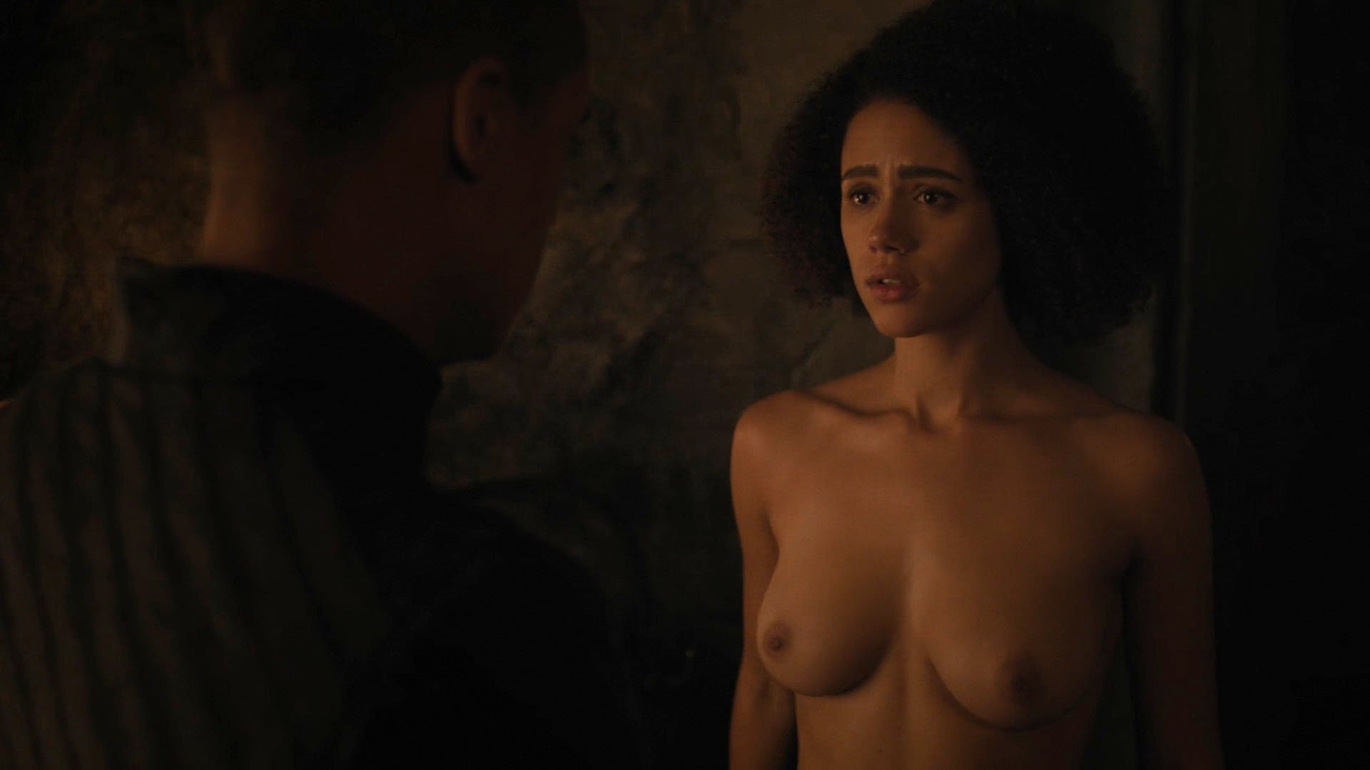 Nude Video Celebs  Nathalie Emmanuel Nude - Game Of Thrones S07E02 2017-3055