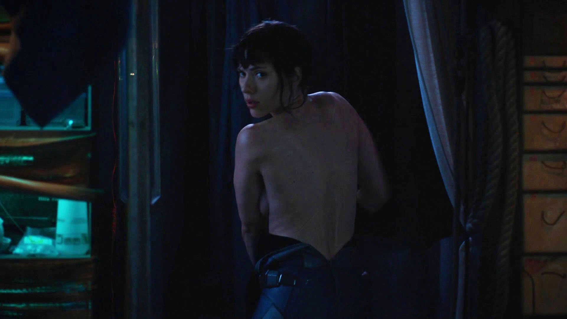 ghost in the shell topless