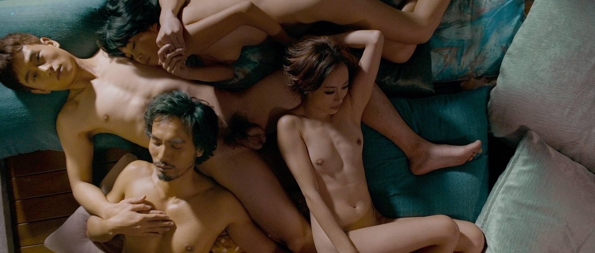Fiona Wang nude, Jie Shui nude, Fiaona Cheung nude - Utopians (2015)