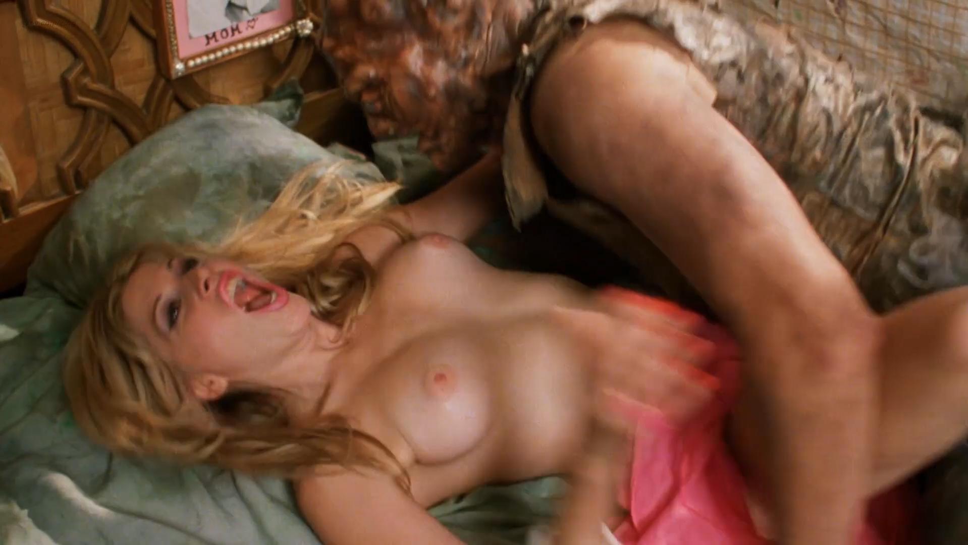 Heidi Sjursen nude, Julie Strain nude - Citizen Toxie: The Toxic Avenger 4  (2000)