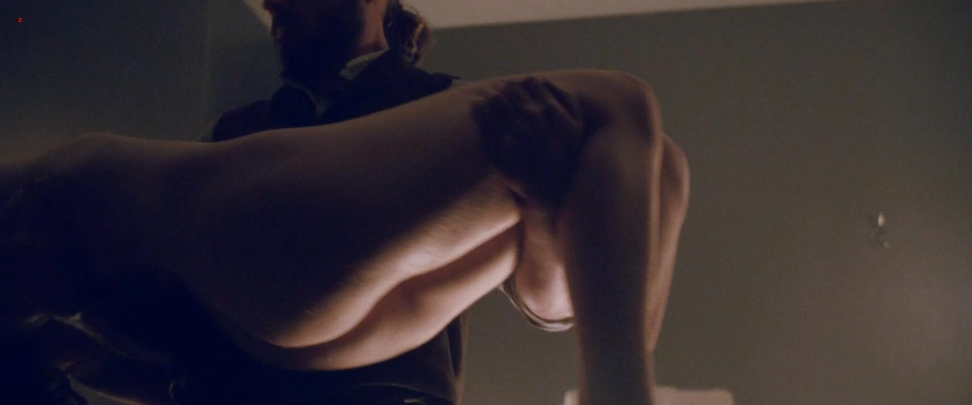 Emily Hampshire nude - Emily Hampshire nude boobs and nude butt in Die (2010)
