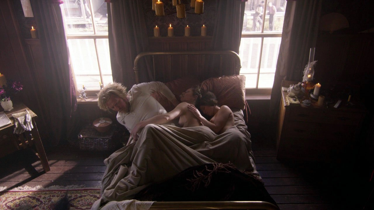 Elizabeth Lavender nude - Dead Again in Tombstone (2017)