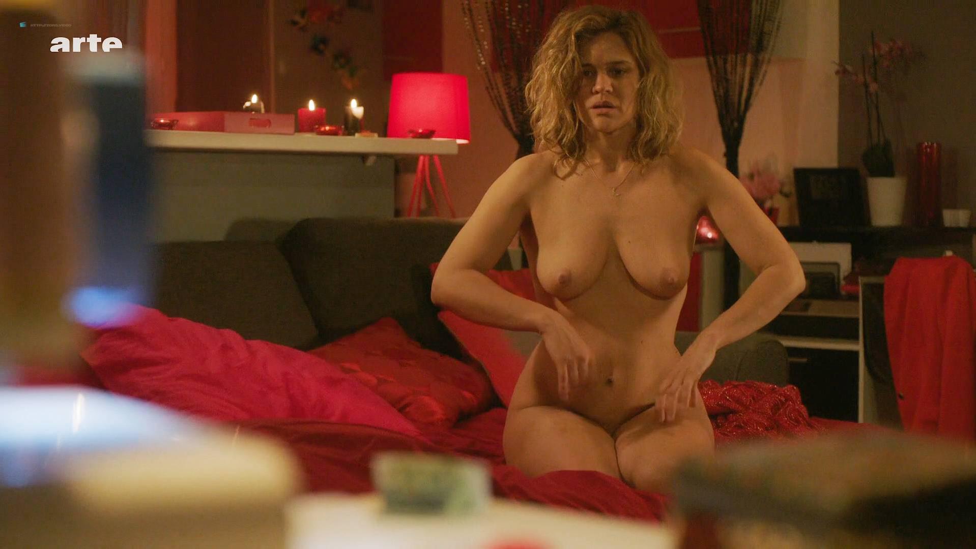 Marie Denarnaud nude, Romane Bohringer nude - Heroines s01 (2017)