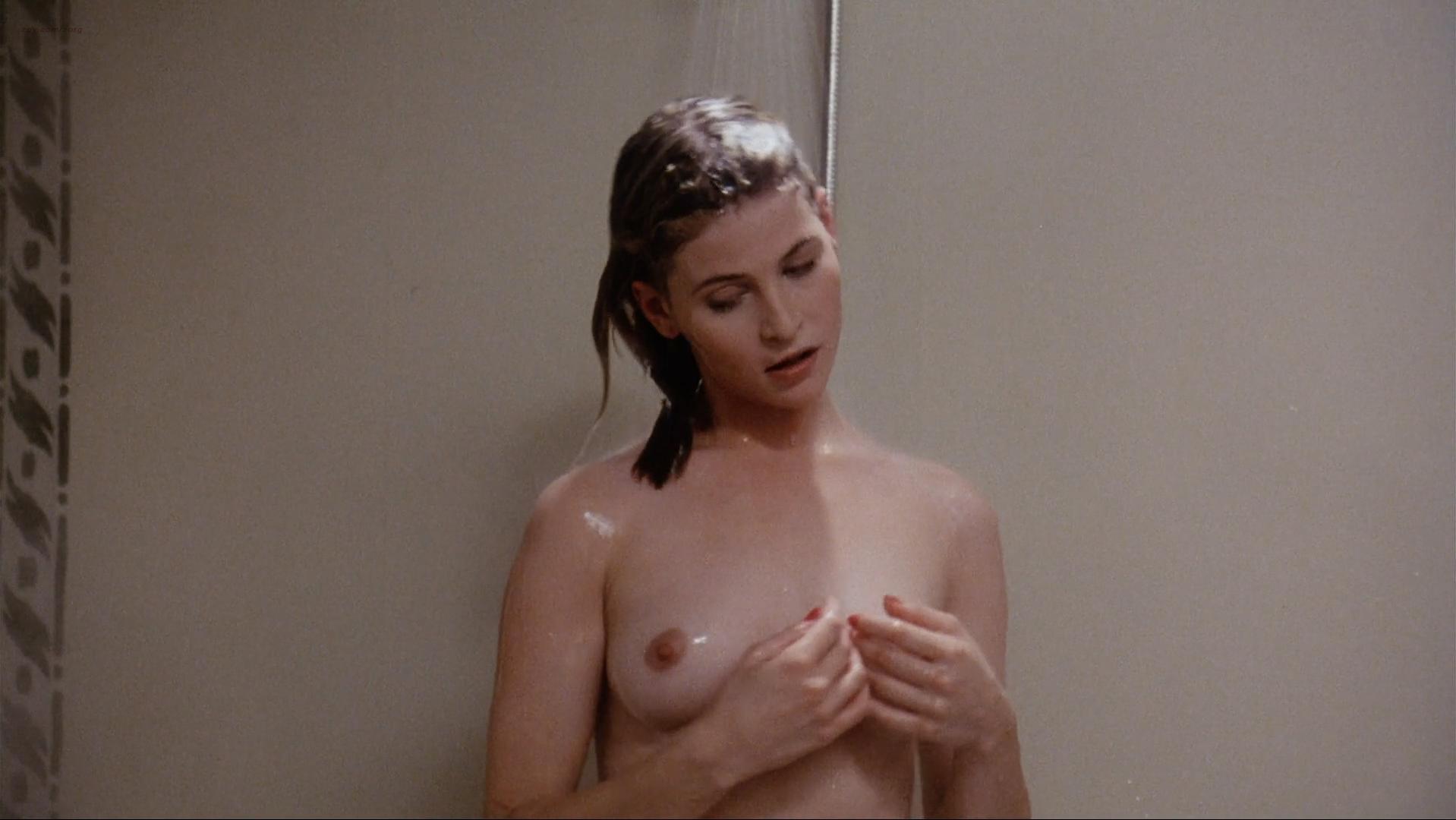 Miranda Wilson nude, Debrah Farentino sexy - Cellar Dweller (1988)