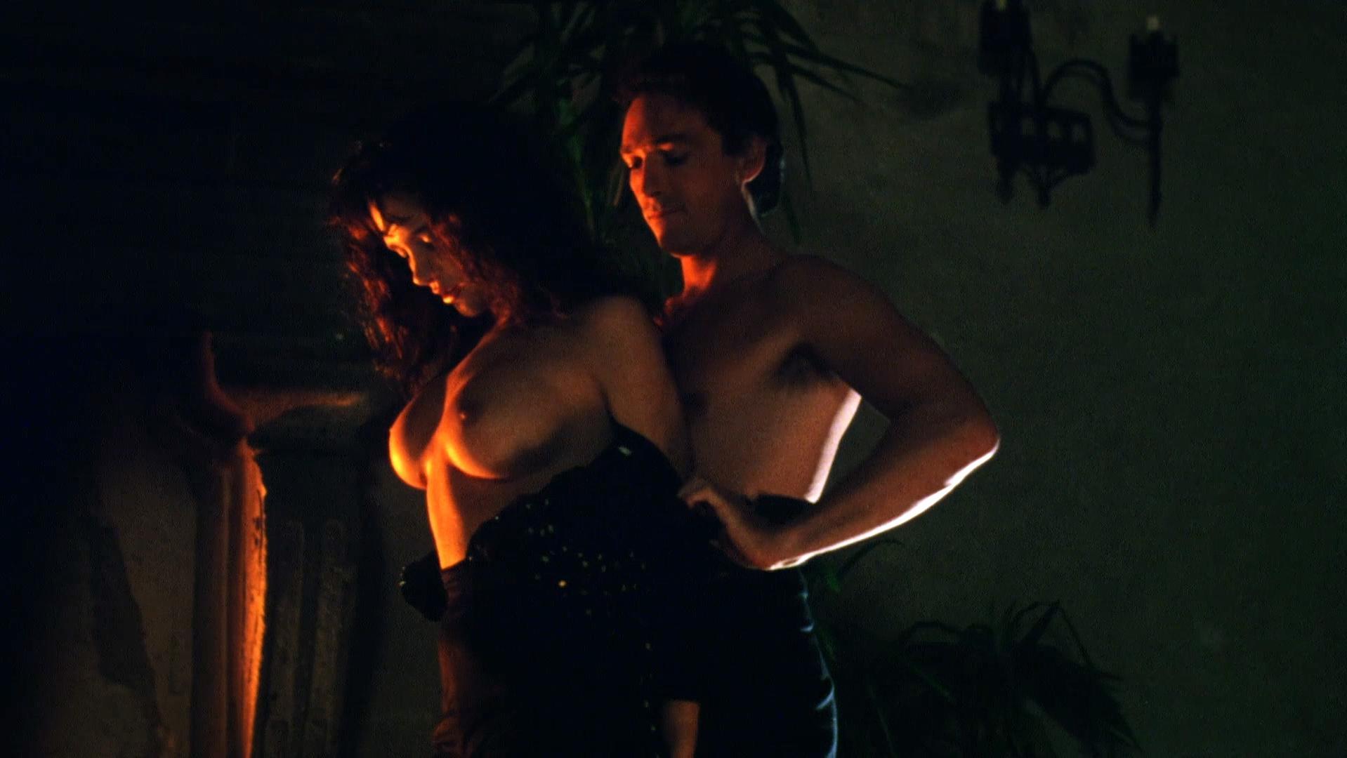 Sherilyn Fenn nude, Charlie Spradling nude - Meridian (1990)