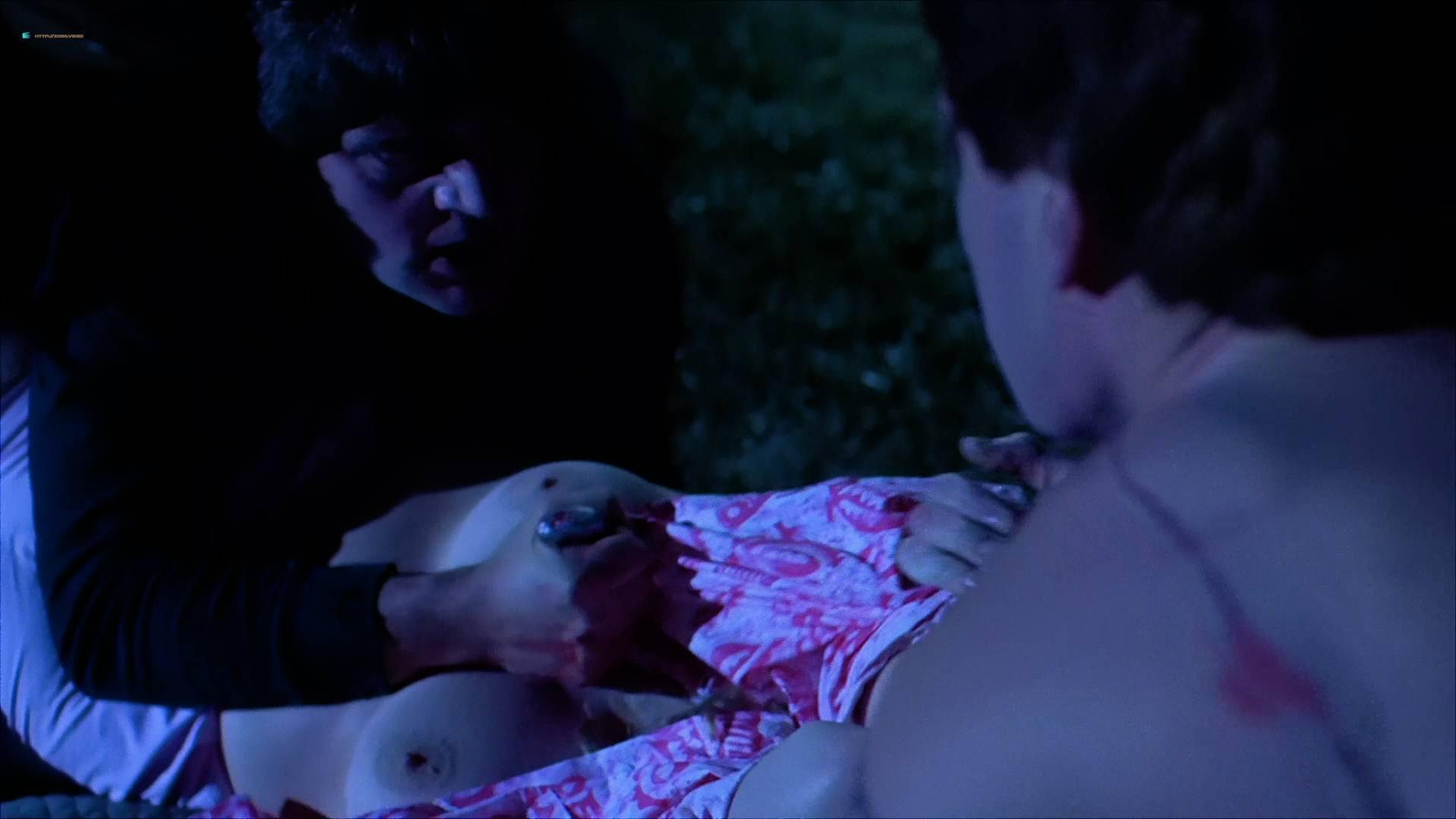 Nicole Rio nude, Wendy Martel nude - Sorority House Massacre (1986)