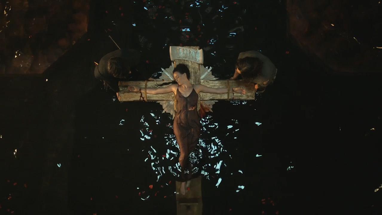 Laura Haddock nude, Lara Pulver nude - Da Vincis Demons s03e03-04 (2015)