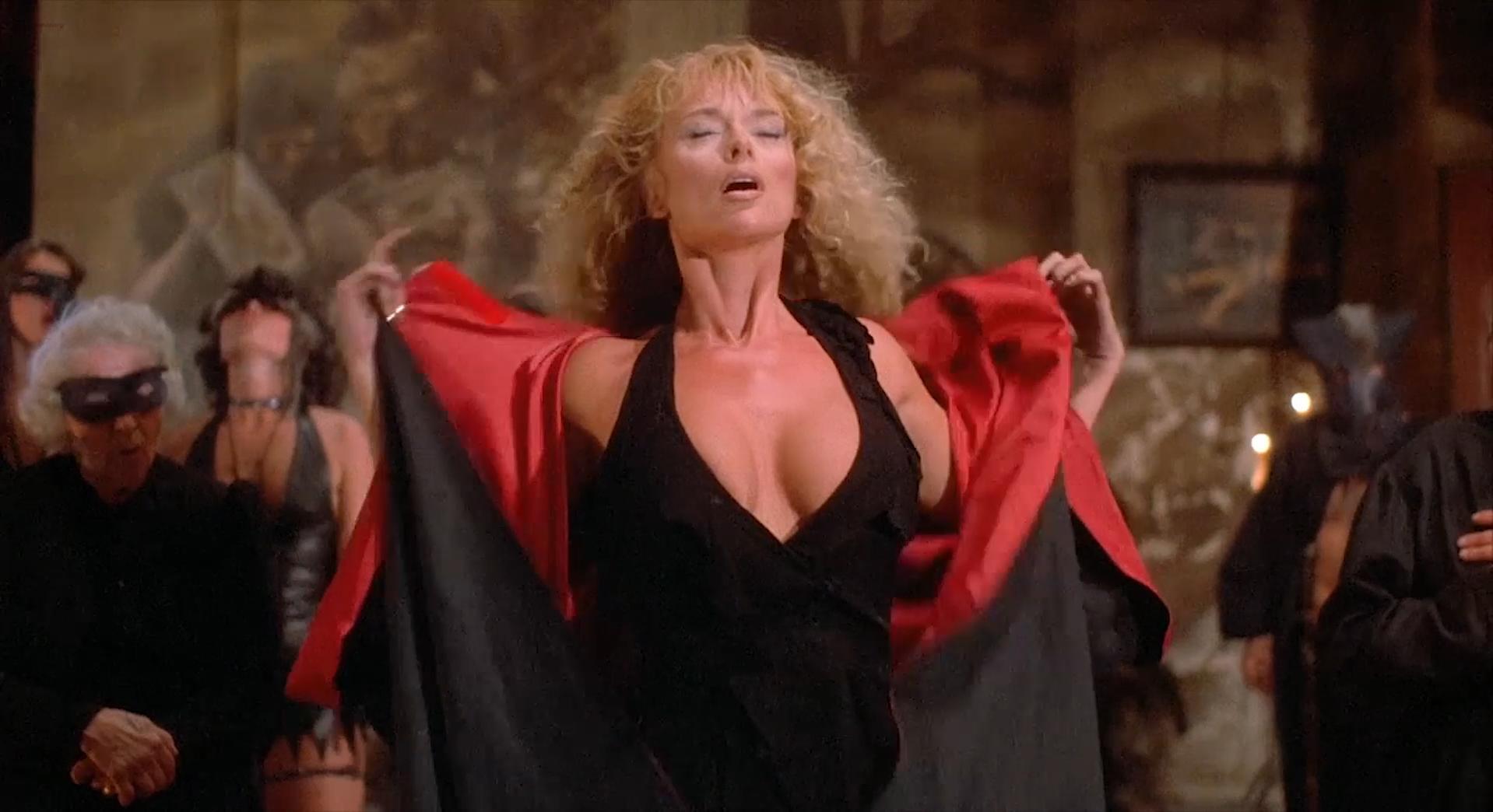 Sybil Danning nude, Marsha A. Hunt nude - Howling 2 (1985)