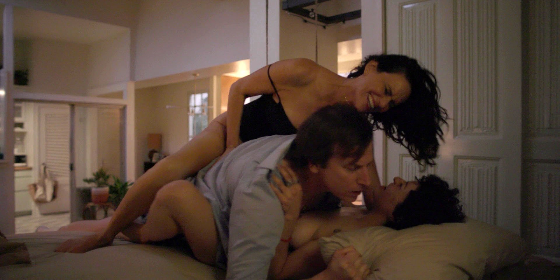 Hot threesome with asia carrera in action with a horny couple - 3 4