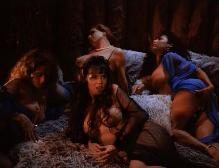 Lorissa McComas nude, Bianca Rocilili nude, Brittany Rollins nude, Meaghan Prester nude - Droid Gunner (1995)