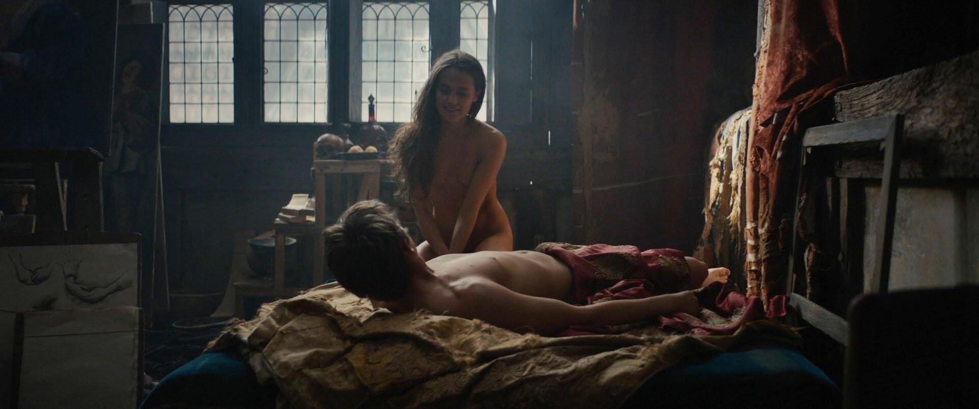 Alicia Vikander nude - Tulip Fever (2017)
