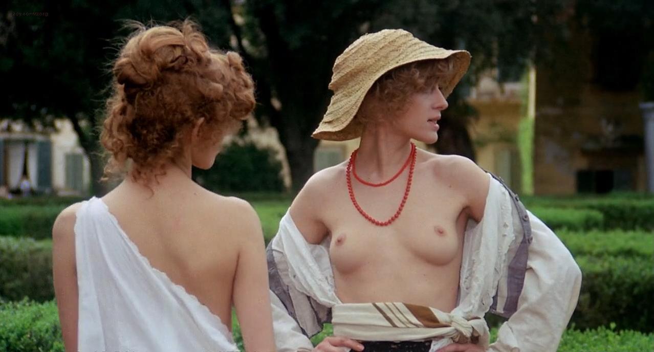 Stefania Casini nude, Dominique Darel nude - Blood for Dracula (1974)