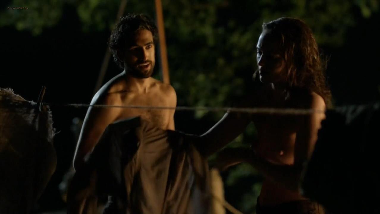 Laura Haddock nude - Da Vincis demons s02e02 (2014)