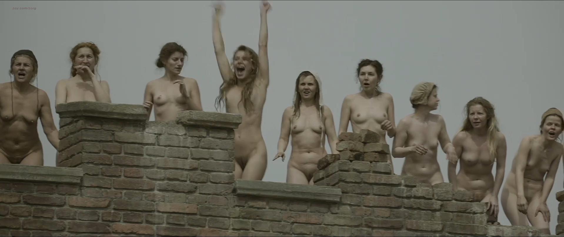 Sallie Harmsen nude, Sophie van Winden nude, Eva Bartels nude - Kenau (2014)