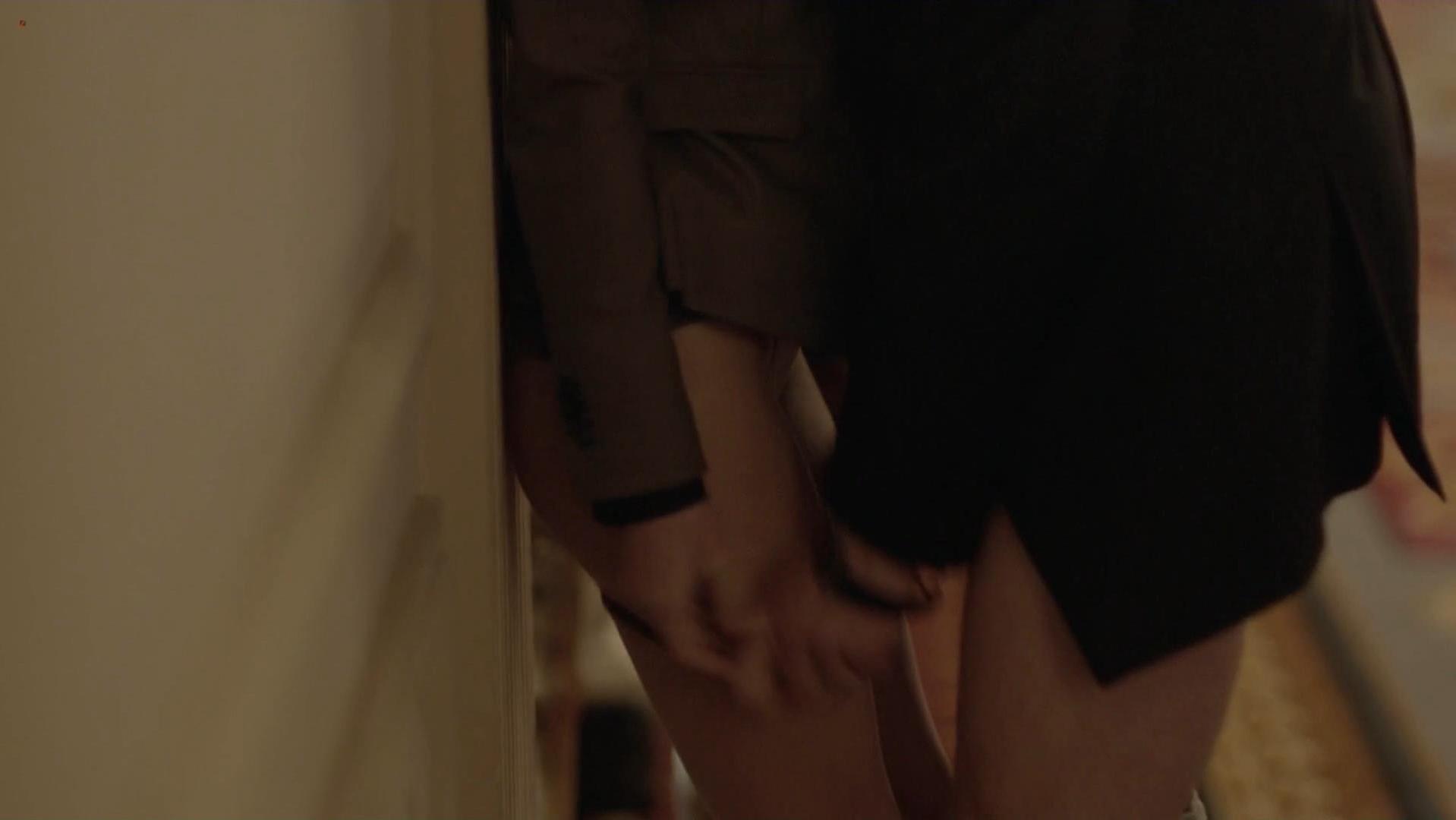 Exposing erotic panties