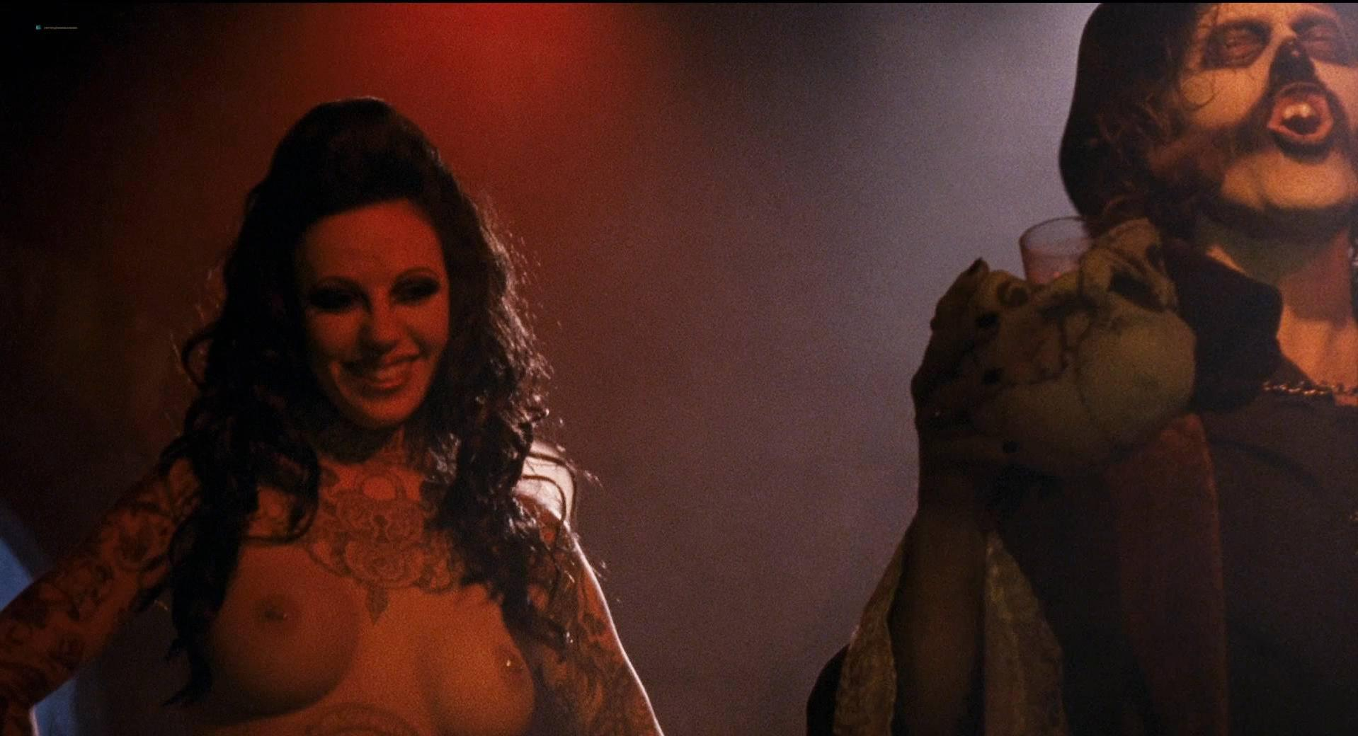 Danielle Harris nude, Sylvia Jefferies nude - Halloween 2 (2009)