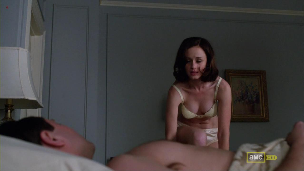 Alexis Bledel sexy - Mad Men s05e13 (2012)