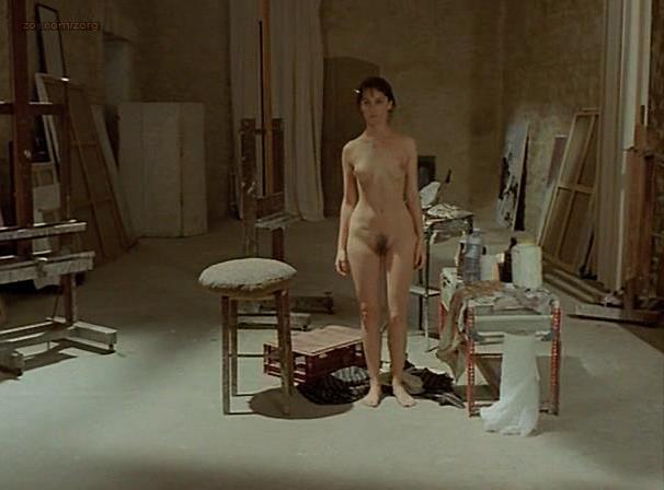 Emmanuelle Beart nude - La belle noiseuse (1991)