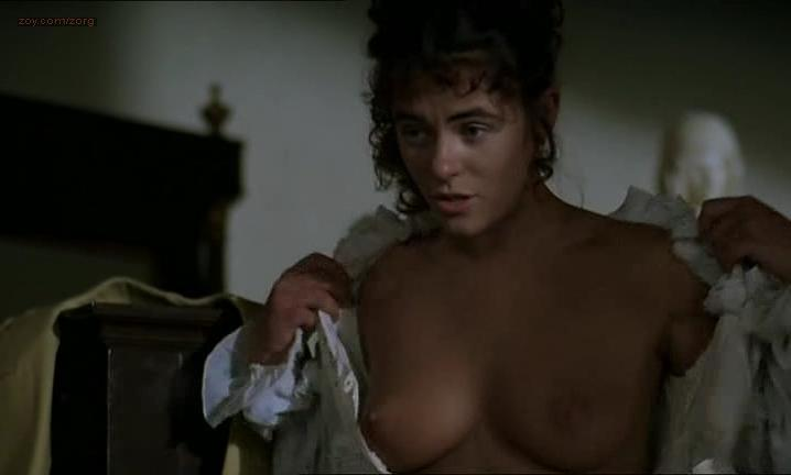 Elizabeth Hurley nude - Rowing with the Wind (1987)