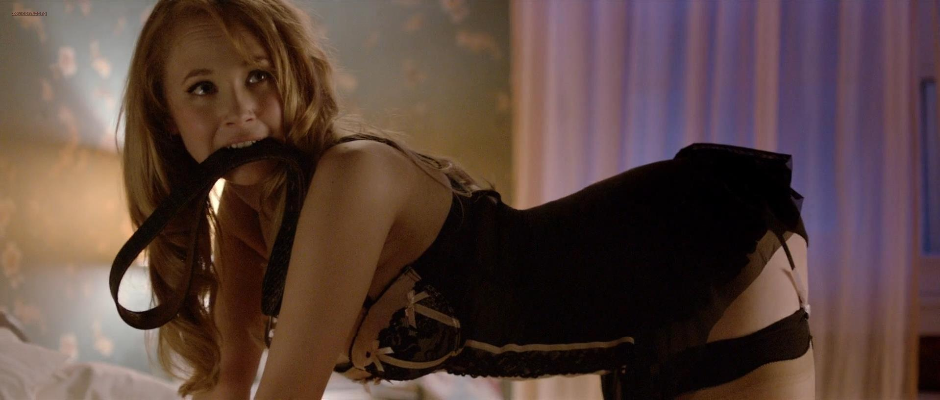 Juno Temple sexy - The Brass Teapot (2012)