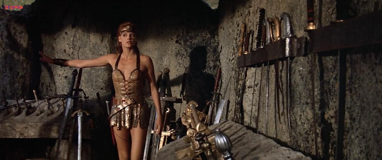 Brigitte Nielsen sexy - Red Sonja (1985)