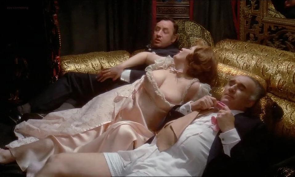 Solange Blondeau nude, Andrea Ferreol nude - La grande bouffe (1973)