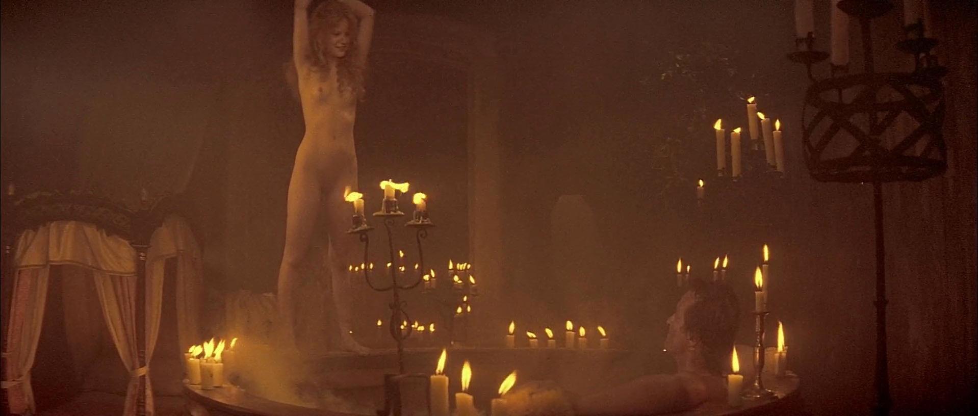 Jennifer Jason Leigh nude - Flesh + Blood (1985)