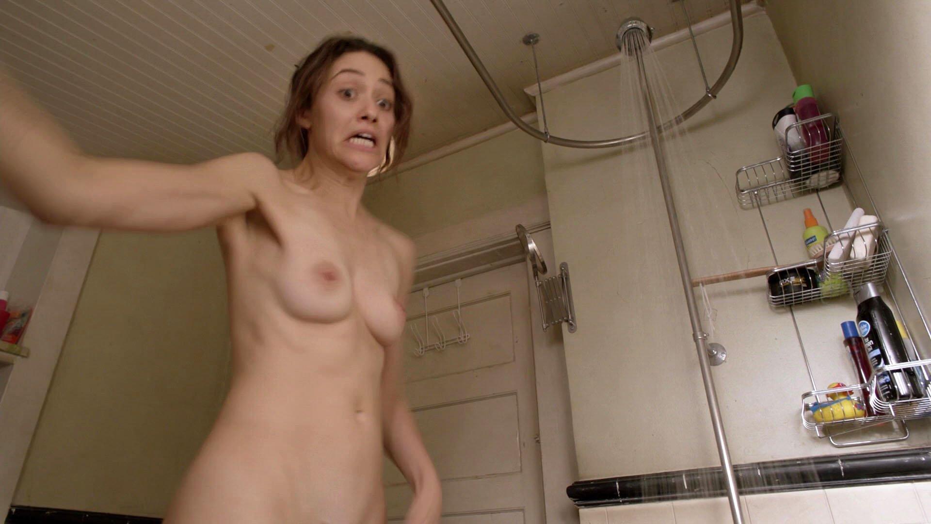 Emmy Rossum nude - Shameless s08e08 (2017)
