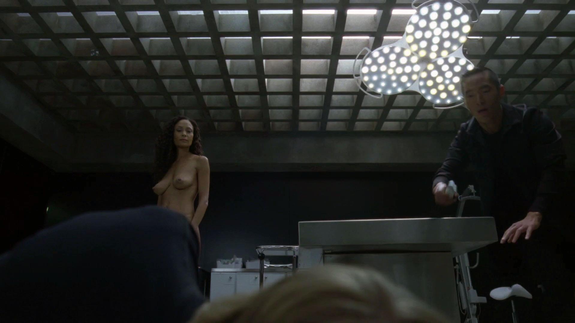 Thandie Newton nude - Westworld s01e08 (2016)