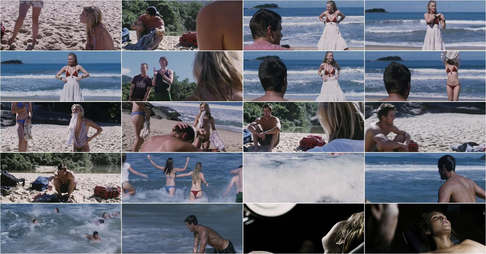 Beau Garrett nude, Melissa George sexy, Olivia Wilde sexy - Turistas (2006)