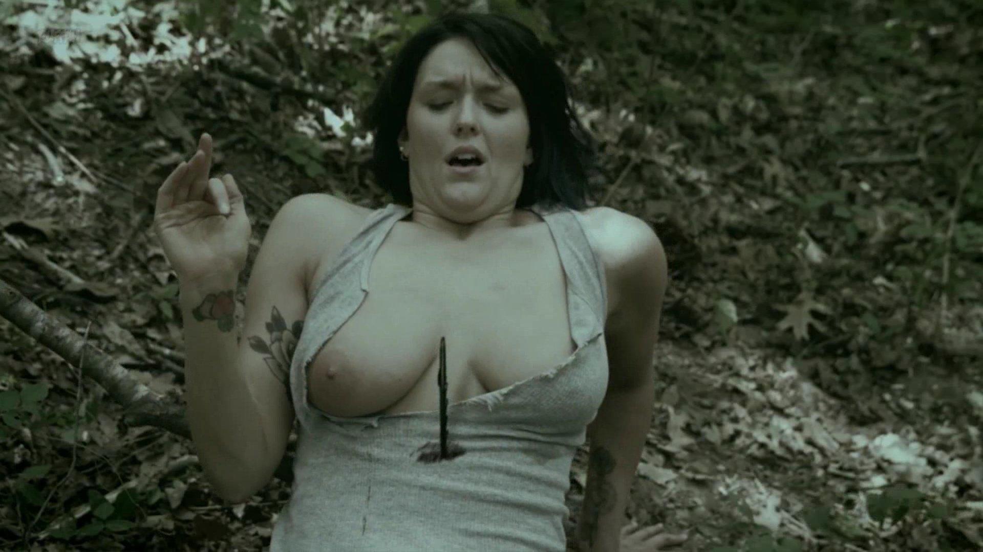 Rebecca Crowley nude - Slasher.com (2016)