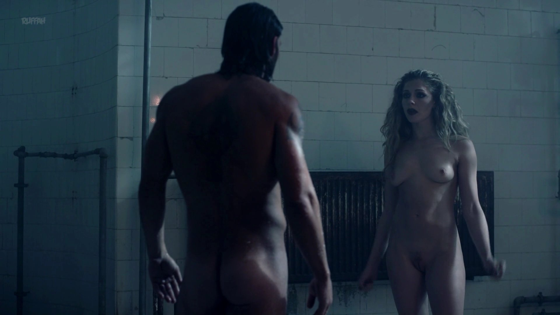 Lucy Aarden nude- Death Race 4 Beyond Anarchy (2018)